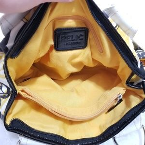 Relic Bags - RELIC| Stylish Black, Yellow, White Shoulder Bag